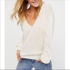 Free People Oversized Alpaca Sweater